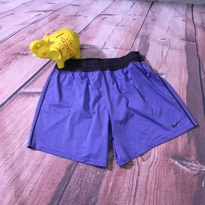 Nike Dri- Fit Basketball Shorts in Purple